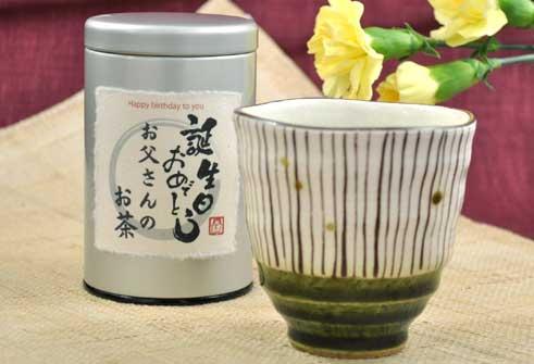 煎茶と十草湯呑みセット