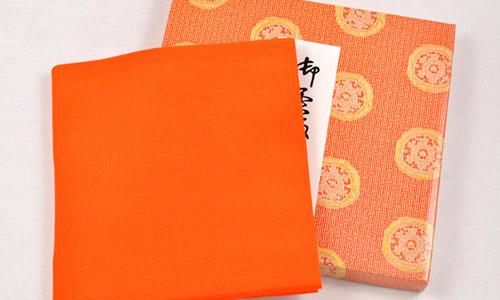 帛紗 練習用(橙)