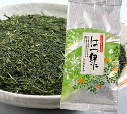 深蒸し茶・はつ緑