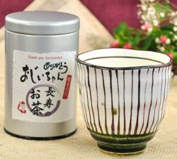煎茶と湯呑み