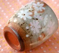 秋桜 湯呑み
