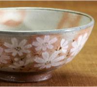 秋桜 ご飯茶碗