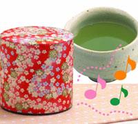 メロディー缶入新茶