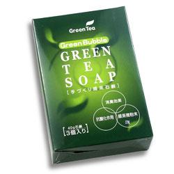緑茶石鹸3個入