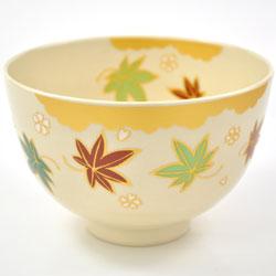 抹茶碗 美濃焼 「もみじ」