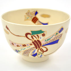 抹茶碗 美濃焼 「結び」