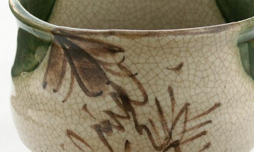 抹茶碗 美濃焼 「織部」