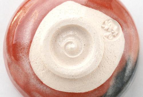 抹茶碗 美濃焼 「赤楽」