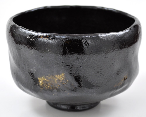 抹茶碗 美濃焼 「黒楽」