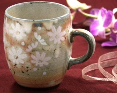 秋桜マグカップ