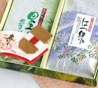 煎茶100g×2、金箔0.04g入×1