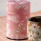 桜缶入 煎茶